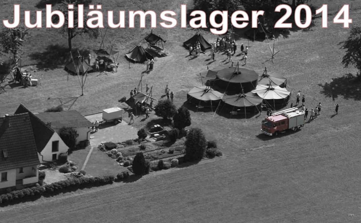 Jubiläumgslager 2014